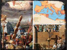 Es difícil creer que el cristianismo, pasara de ser una secta insignificante, procedente de Judea, a ocupar el centro del poder en el Imperio Romano.