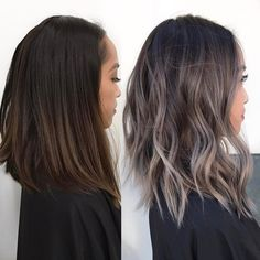 "2,318 Likes, 73 Comments - KY COLOR { ista } (@kycolor) on Instagram: "" Ash grey transformation Started with 6"" regrowth and an ombre over box dye ends. ️Toned with…"""