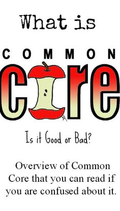 What is Common Core? Is it Good or Bad? One mom's research journey!