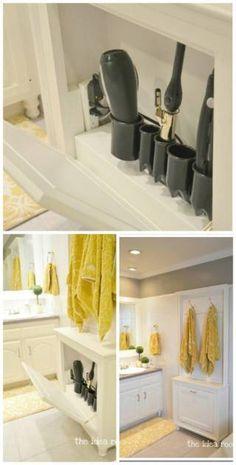 Organizador de secadora y plancha