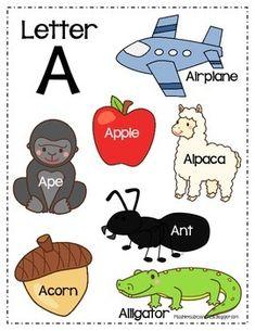 ALPHABET POSTERS *NEW* - TeachersPayTeachers.com