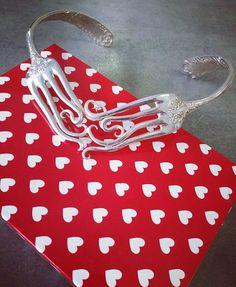 Collier fourchettes Argenté  Forks necklace Silvered
