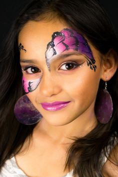 Pretty Girly Face Paint Mask