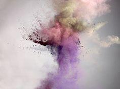 big bang project, bursts of color, explosion photographs by Marcel Christ Marcel, Holi, Color Explosion, Dust Explosion, Foto Still, Still Life Photographers, Illustration, Christen, Life Photography