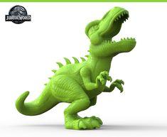 Jurassic World Toy Sculpts