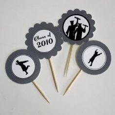Graduation Cupcake Printables {Party Printables}