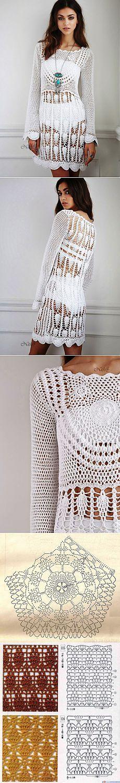 470 best 1 Black and white web crochet images on Pinterest | Crochet ...