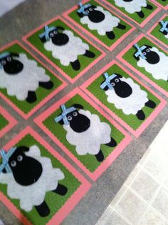 Shaun the Sheep invitations for girl party.