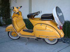 Vespa Vintage Scooter