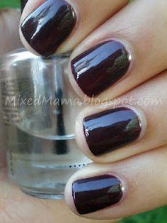 Nails, CND Shellac Fedora