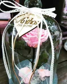 🌹 Anthos The Art Of Flowers 🌹 Beauty and the Beast Roses 🌹 Preserved Roses, Thessaloniki, Beauty And The Beast, Flower Art, Wine Glass, Greece, Christmas Bulbs, Valentines Day, Decoration