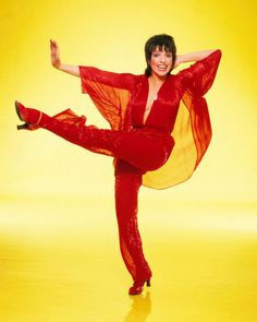 Liza Minnelli in red outfit high kick studio photo shoot 8X10 Photo | eBay