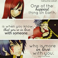 Tag someone you love ☺❤    Anime: Fairy Tail