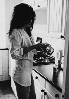 Love this!  Shot in your mans shirt around the house.  The natural moments at home should be caught on camera*