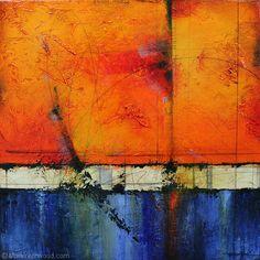 Abrasion by Mark Yearwood Acrylic/Graphite ~ 18'' x 18''