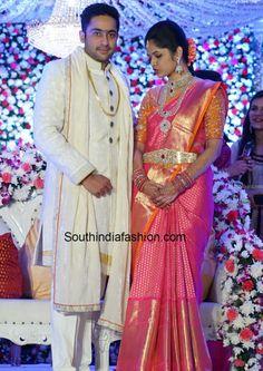telugu_bride_kanjeevaram_saree