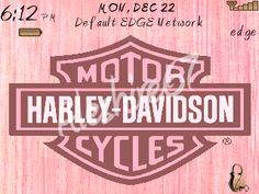 Pink - Harley Davidson