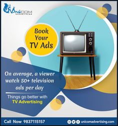 On Average,a Viewer watch telivions ads per day. Tv Ads, Short Film, Advertising, Watch, Digital, Day, Books, Clock, Libros