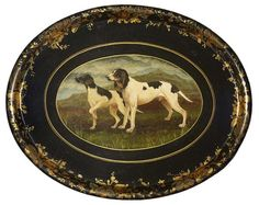 """Visit our site for additional details on """"English Pointer"""". It is a superb location to find out more. Old Plates, Antique Plates, Country Paintings, Dog Paintings, English Pointer Dog, Art Decor, Decoration, Ranch Riding, Painted Trays"""
