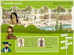 Site de Annie Marois, conseillère pédagogique en univers social à la CS Découvreurs