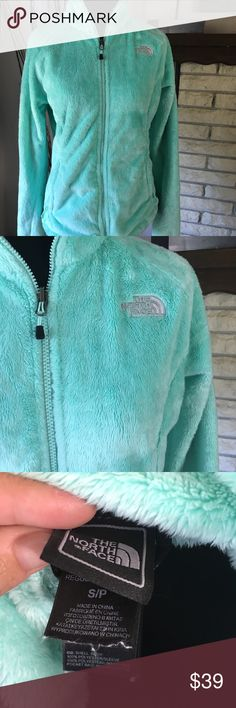 The North Face Jacket Super Soft & Comfy- Excellent Condition- Smoke Free Home- Color- Mint Green The North Face Jackets & Coats