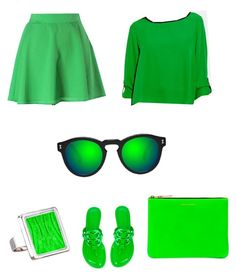 A fashion look from September 2017 featuring shiny blouse, Naven and green sandals. Browse and shop related looks. Green Sandals, Vince Camuto, Tory Burch, Fashion Looks, Blouse, Polyvore, Image, Shopping, Blouses