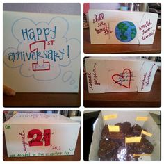 1 Month Wedding Gift : ... Gift Ideas ?? on Pinterest Anniversary gifts, Wedding gifts and