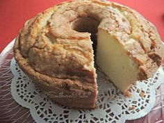 Very, very yummy and moist pound cake! Mines came out as pictured with sort of a crunchy top. It rose high which is how I like my pound cakes to