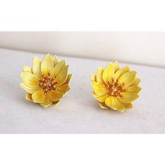 Yellow tulip earrings on oxidized sterling vintage west german yellow tulip earrings on oxidized sterling vintage west german glass boho bohemian lemon drops jewelry earrings pinterest yellow tulips mightylinksfo