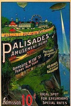 Palisades Amusement Park, Palisades, NJ