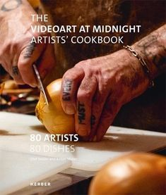 The Videoart at Midnight Artist's Cookbook. Have you ever watched Douglas Gordon cook? Do you know Harun Farocki's favourite dal? Would you like to nibble straight from the pot with Keren Cytter or recreate Agnieszka Polska's pirogi with trumpets of death? Cookbooks are a dime a dozen. And there's even a certain tradition of artists' cookbooks. But there is only the one Videoart at Midnight Artists' Cookbook: 80 of the most renown video artists of our time reveal their favorite recipes. Some… Olaf, Anton, Douglas Gordon, Video Artist, A Dime, Trumpets, Have You Ever, Sim, Videos