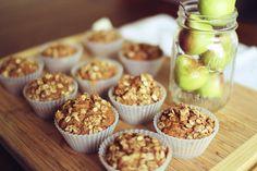 Gluten free, fat free Apple Muffins!
