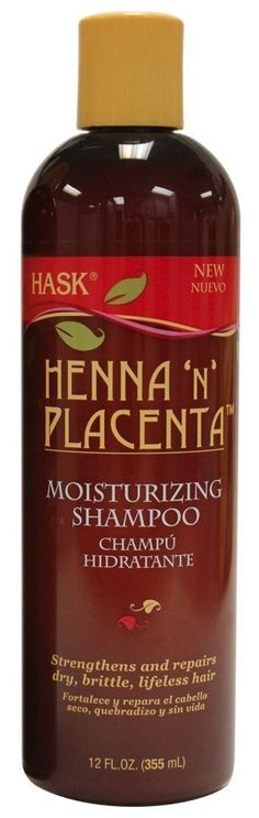 Hask Henna 'N' Placenta Shampoo Moisturizing 12oz *** Check this awesome product by going to the link at the image. (This is an affiliate link and I receive a commission for the sales)