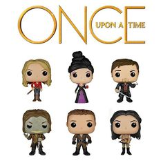 Coming Soon: Once Upon a Time Pop!s! Learn more at Funko.com! #Funko