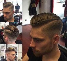 La perfección de medio lado. | 20 Estilosos cortes de pelo que todo hombre debería experimentar en su vida