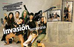 Invasión Femenina, by Ricardo Cervera. #Editorial #Design #Magazine