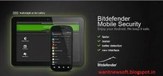 BitDefender Mobile Security & Antivirus For Android Free Download With 6 Months License Key Read more at http://wantnewsoft.blogspot.com/2014/05/bitdefender-mobile-security-antivirus.html #wantnewsoft