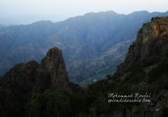 Assahab park, Asir mountains