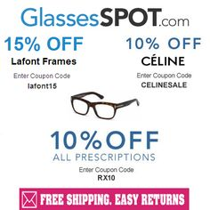 dfa23ef3cb9 Glasses Spot 15%   10% Off Coupon Codes. Use them at Glasses Spot and get  discounts.