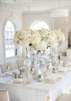 Thème mariage argent et blanc - Quel thème pour mon mariage ? - Elle