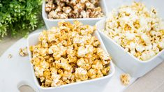 Salted Caramel, Chocolate And Savoury Popcorn