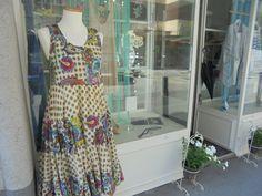 Baumwollsommerkleid für heiße Tage  www.mmel.at