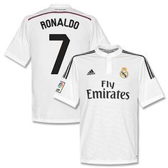 Adidas Real Madrid Home Ronaldo No.7 Kids Shirt 2014 Real Madrid Home Ronaldo No.7 Kids Shirt 2014 2015 (Fan Style) http://www.comparestoreprices.co.uk/football-shirts/adidas-real-madrid-home-ronaldo-no-7-kids-shirt-2014.asp