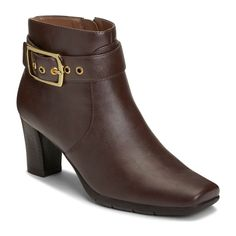 A2 by Aerosoles Monorail Women's Ankle Boots, Size: medium (10.5), Brown
