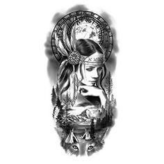 Tattoo Sleeve Design Idea