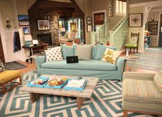 Good Luck Charlie Set Tour | Little B definitely plans on having stairs painted in a real fun color ...