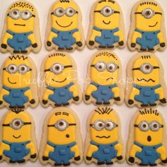 Minions from Truffle Pop Shoppe | Cookie Connection