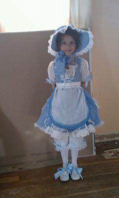 Made my daughter's Little Bo Peep costume.