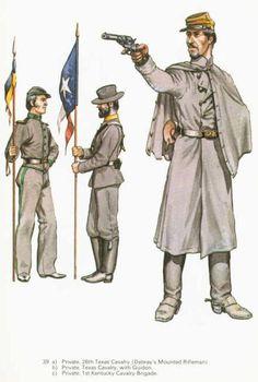 CS Cavalry Uniforms