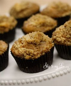 Unbelievable Low fat Pumpkin Muffins from a Cake Mix from Cindy Hopper at Skip to my Lou. org
